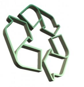 Bild som visar logga för återvinning som beskriver länkar